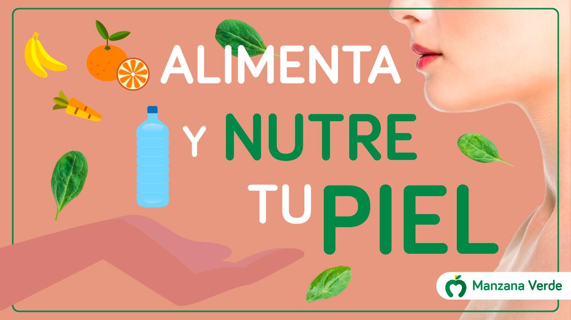 Los alimentos saludables para nutrir tu piel