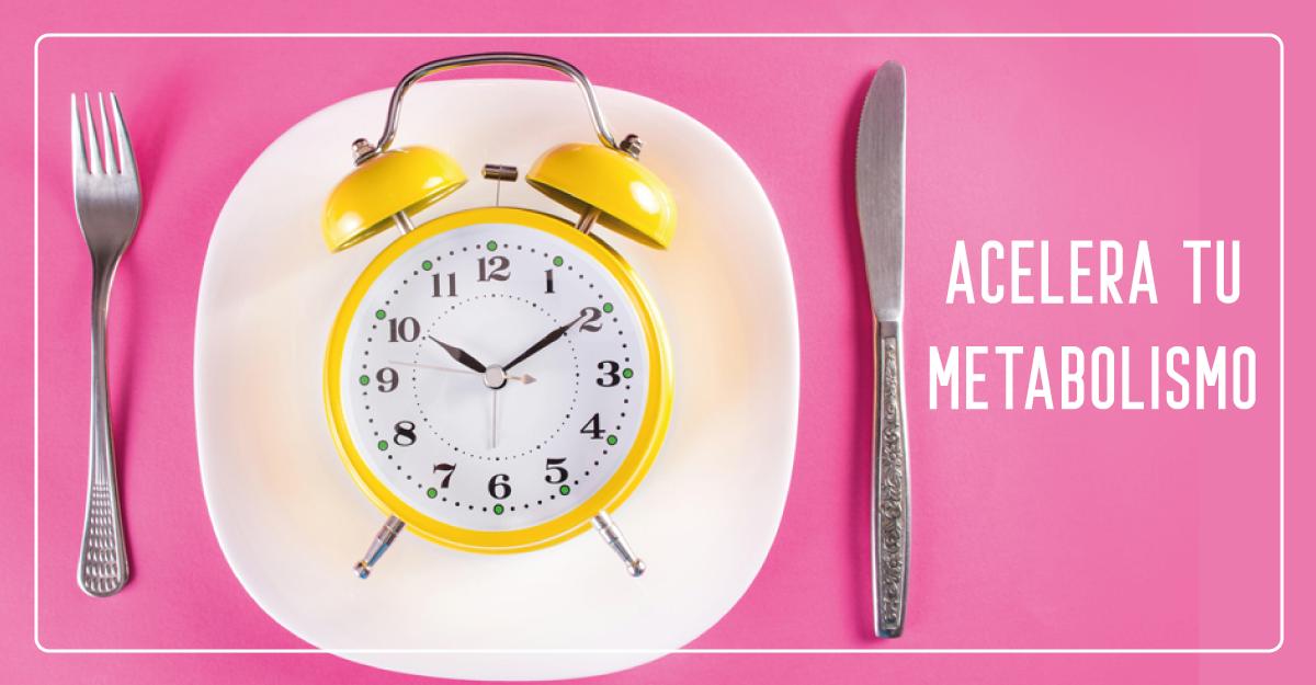 ¿Cómo puedo acelerar mi metabolismo de forma natural?