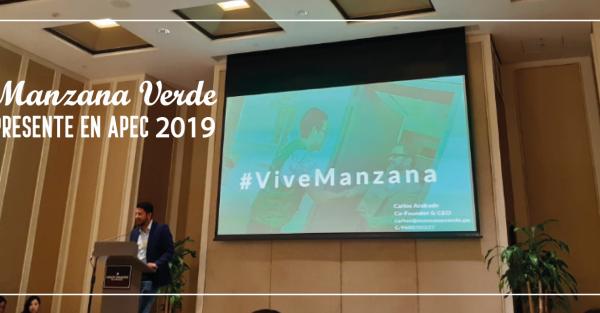 Manzana Verde presente en el APEC 2019 como una startup innovadora