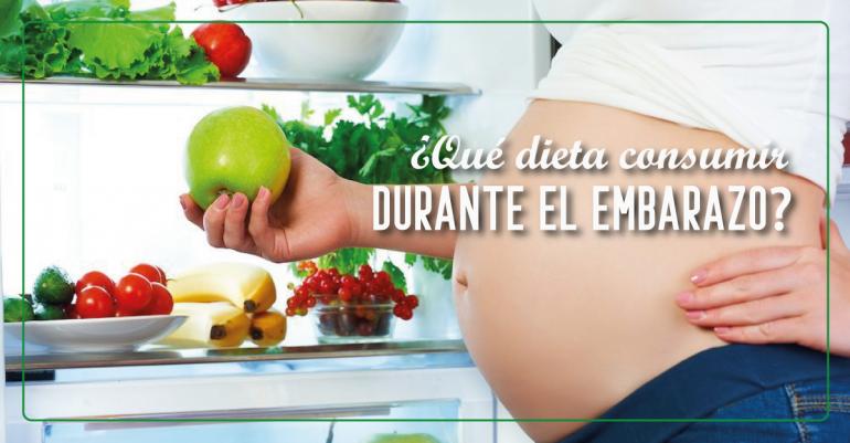 Dieta para embarazadas: Alimentos nutritivos que debes consumir durante la gestación