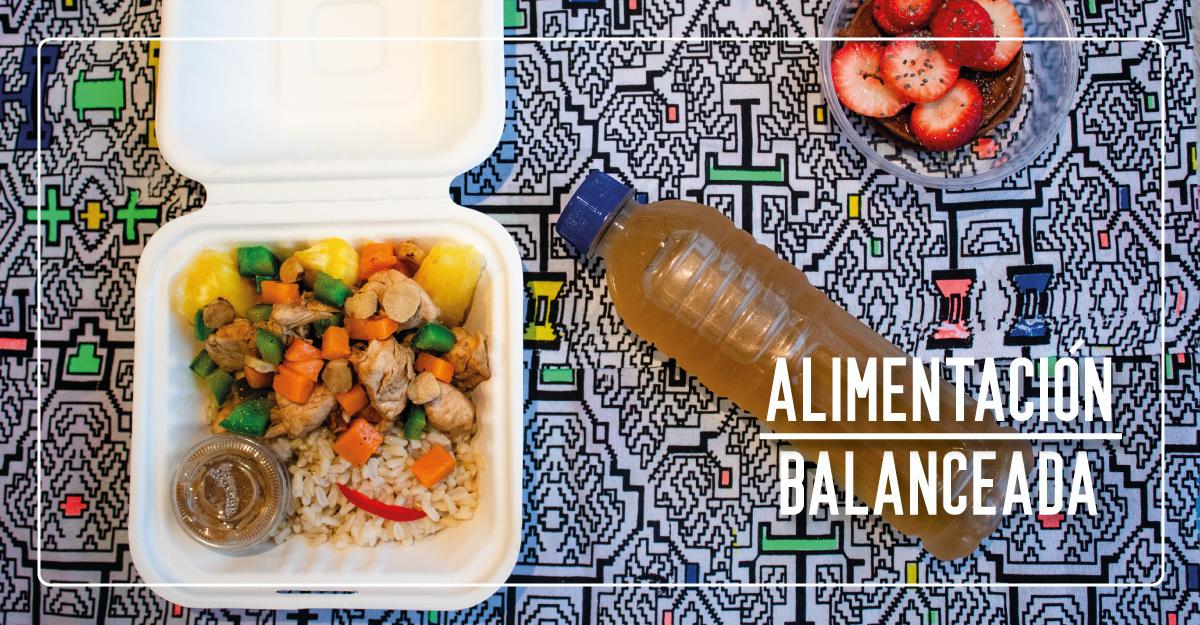 ¿Cómo lograr una alimentación balanceada para cumplir tu objetivo?