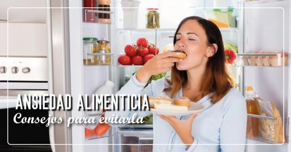 La ansiedad y un régimen  de alimentacion balanceada
