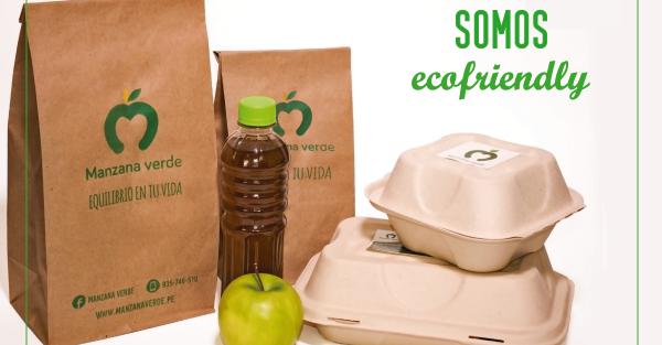 """Manzana Verde es """"ecofriendly"""" o """"ecoamigable"""", que cuida el medio ambiente"""