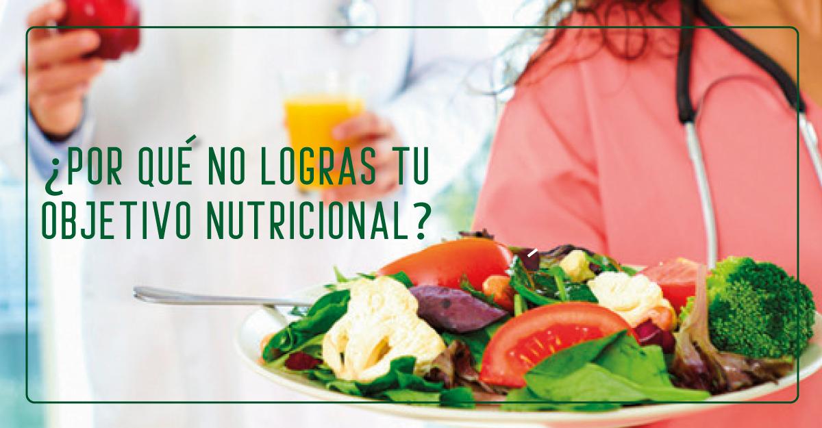 Razones por las cuales no cumples con tu objetivo nutricional