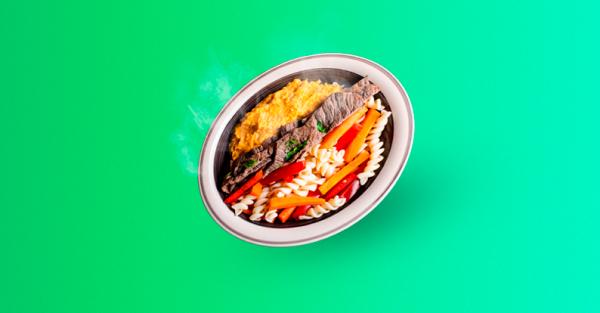 Receta de fajitas de res con puré de camote – Comida saludable peruana