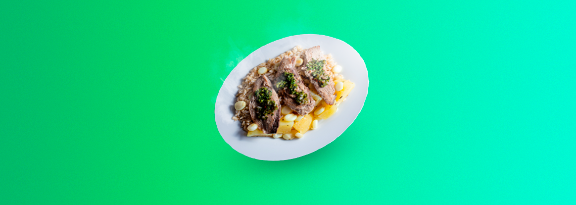 Receta de pescado con papas y chimichurri – Comida saludable peruana