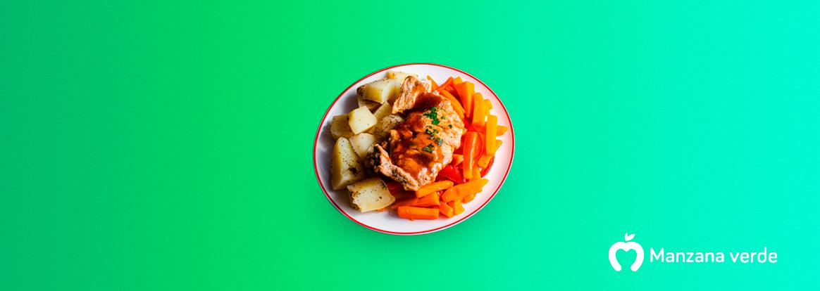 Receta de chuleta en salsa BBQ – Comida saludable mexicana