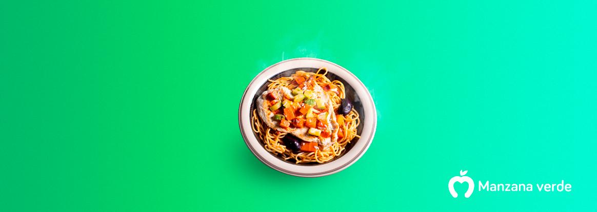 Receta de pasta napolitana – Comida saludable mexicana