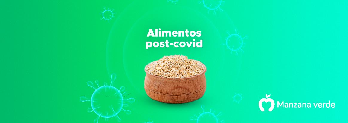 Alimentos peruanos post covid para una dieta de recuperación